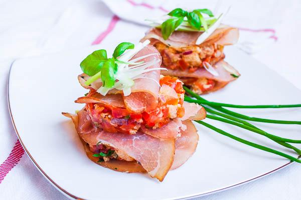Panzanella sandwiches